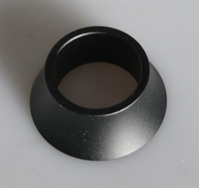 Humpert Spacer 1 1//8 Pouces-alu 10 Mm Noir Sable