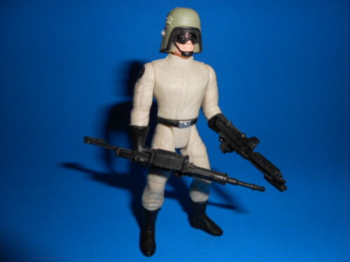 Star Wars 1997 Potf Vintage Style Imperial AT-ST Driver Pilot ~ Heavy Blasters
