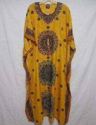 New Women Caftan Kaftan dress maxi cocktail gown boho Dashiki casual Plus size