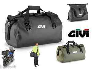 sac rouleau givi ea115 40 litres moto transport pvc 40l transport tanche neuf ebay. Black Bedroom Furniture Sets. Home Design Ideas