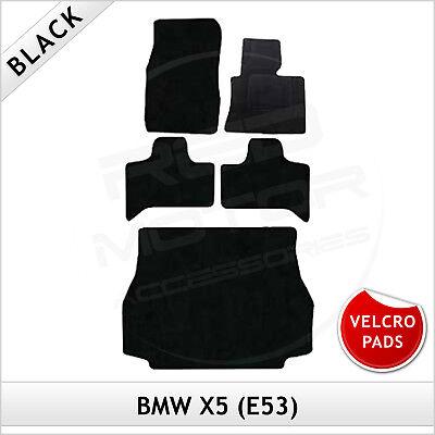 BMW X3 F25 2010-2017 Velcro Pads Tailored LUXURY 1300g Carpet Car Mats BLACK