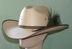 5cd47ef182d CHARLIE 1 HORSE PLUME CRAZY 10X SHANTUNG STRAW COWBOY WESTERN HAT