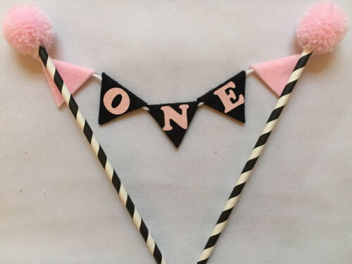 1st Birthday//Cakesmash Cake Topper /'Choice of colour/'