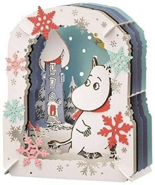 Moomin snow of the Moomin house paper Theater