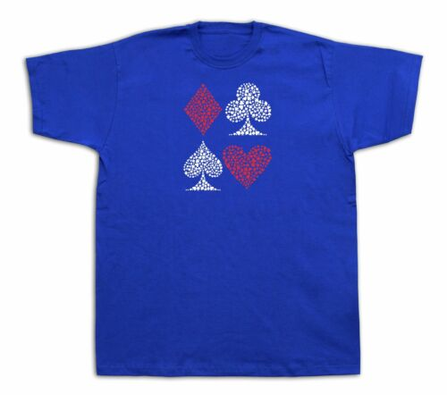 Card signs Joker poker face Grand master chef chess T shirt funny gift tee