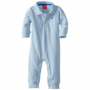 IZOD Baby Infant Boy newborn Outfit Cotton jumpsuit bodysuit playsuit rumpers