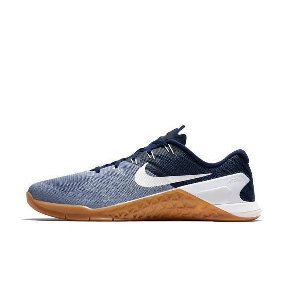 Men's Shoes Nike Metcon 3 Training Shoes Men's Grey Blue White Sail 852928 013 5bf660