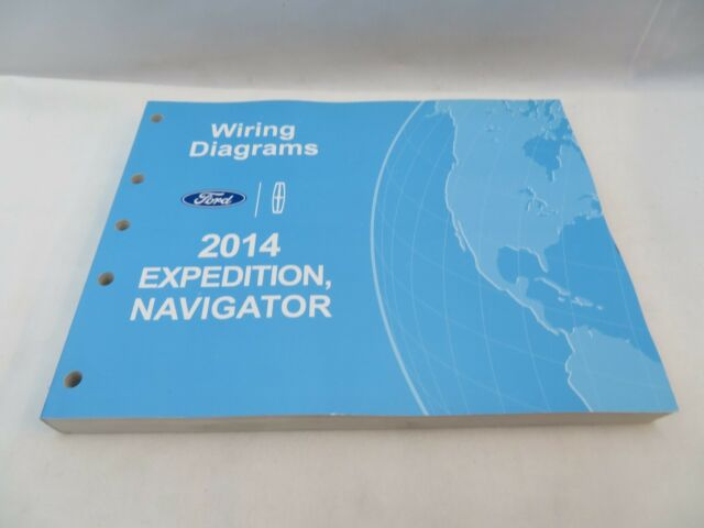 Original 2014 Ford Expedition Navigator Wiring Diagrams