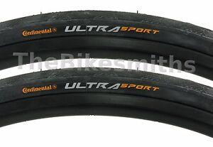 Continental Ultra Sport II 700x23 Wire Bead
