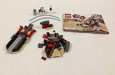 LEGO 8092 Star Wars Luke's Landspeeder Not Complete!