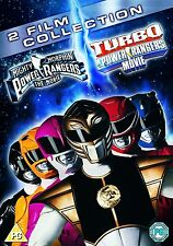 MIGHTY MORPHIN POWER RANGERS THE MOVIE / TURBO POWER RANGER MOVIE 2 FILM DVD NEW