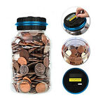 Electronic Digital Coin Counter Automatic Money Counting Saving Piggy Bank Tool