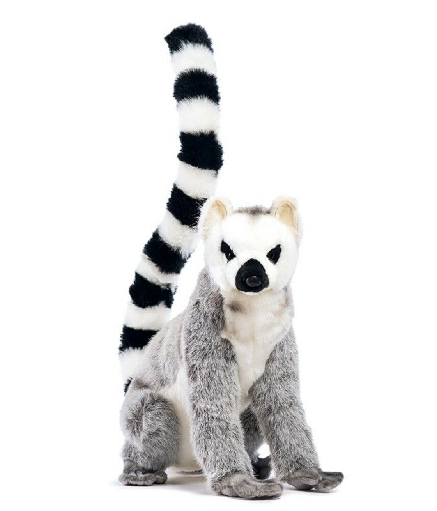 Peluche Lemure Seduto 54x26x36 Cm Peluches Realistici Hansa PS 13288