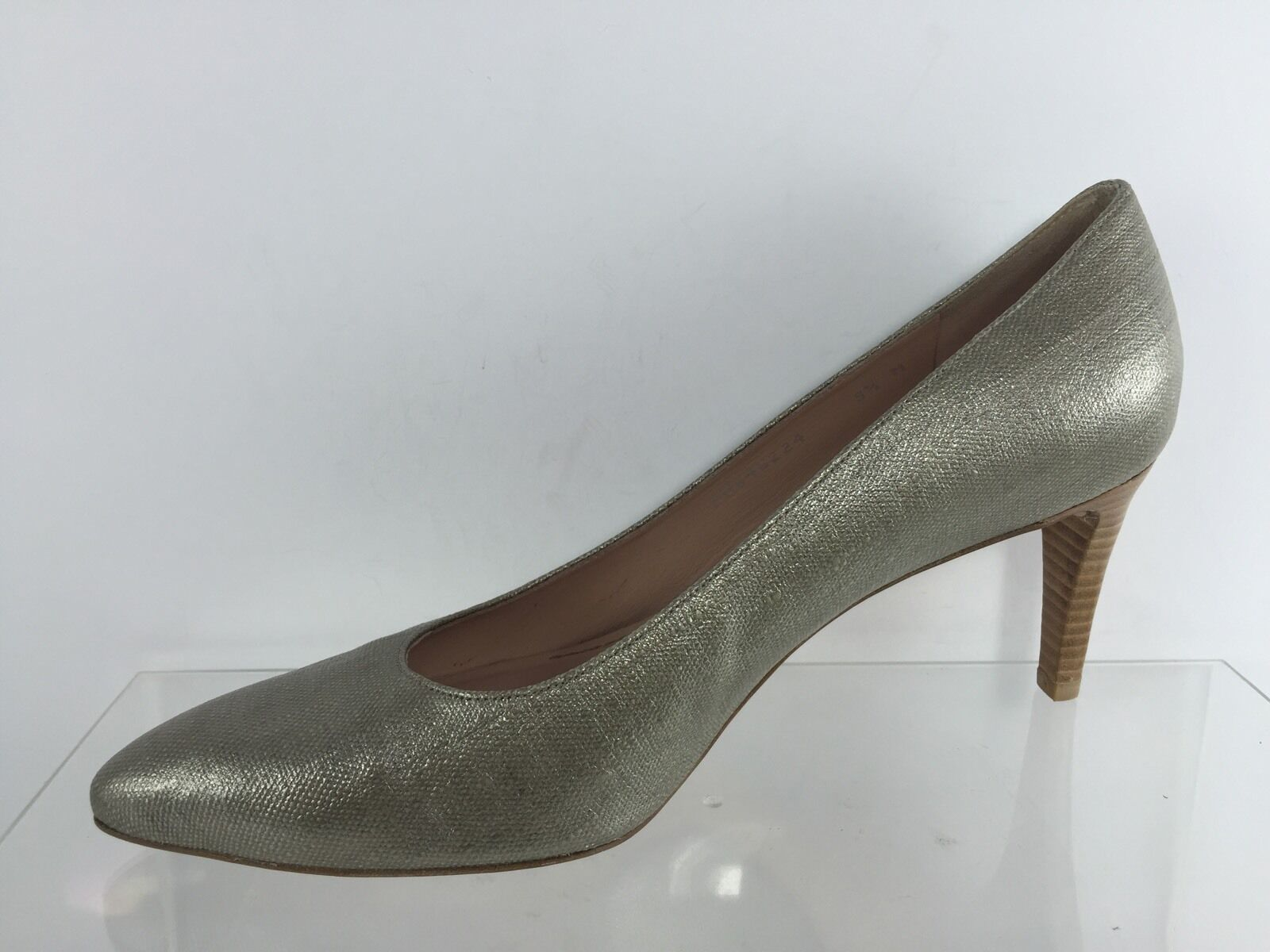 Stuart Weitzman damen damen Weitzman Pewter Heels 9.5 M 8764fc