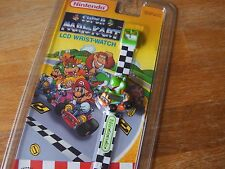 """Lcd game Nintendo """" Yoshi """" Super nintendo Mario kart Wrist watch 1994"""