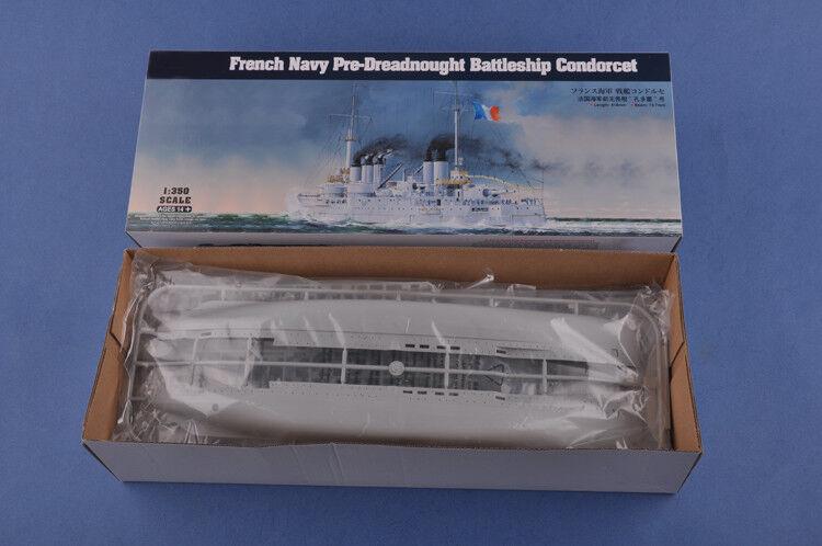 Hobbyboss 1 350 86505 French Navy Pre-Dreadnought Battleship Condorcet