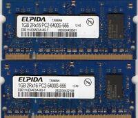 2gb 2x1gb Sony Vaio Pcg-4n1l Pcg-4n2l Pcg-4n3l Pcg-4n4l Pcg-4t1l Notebook Memory