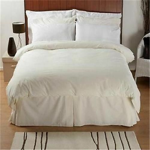 Egyptian Cotton Luxury 200 Thread Count Bed Linen In Weiß Or Ivory