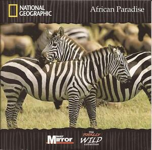 National Geographic  AFRICAN PADADISE  DVD - London, London, United Kingdom - National Geographic  AFRICAN PADADISE  DVD - London, London, United Kingdom