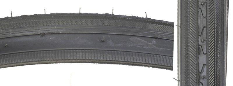 Strada Nuova Bicicletta Fixie Tire 27 x 1 1 4 Muro Nero 70 Psi Lotto di 10