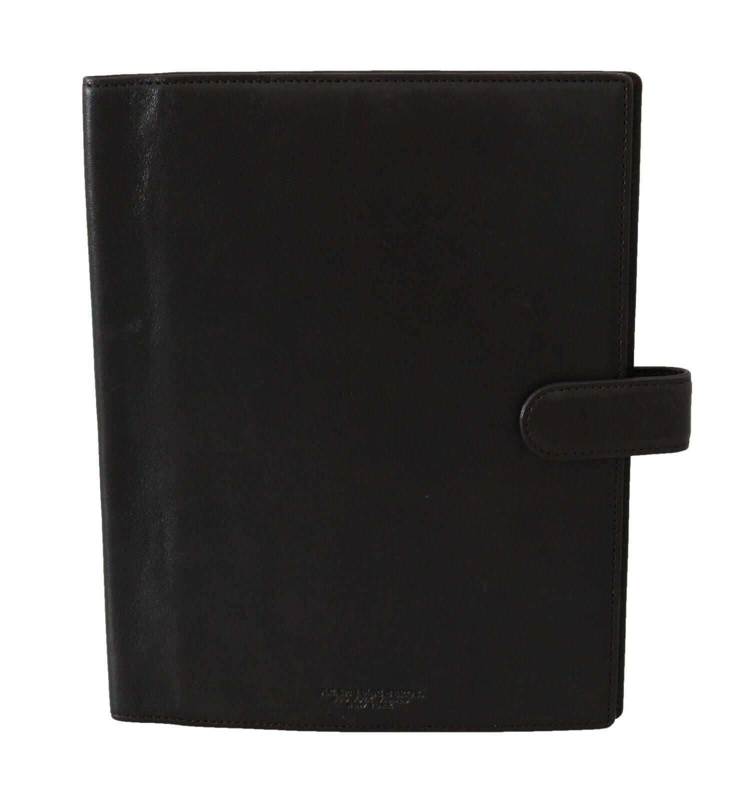 A.G SPALDING & BROS Wallet Leather Brown Bifold Travel Holder Men Logo