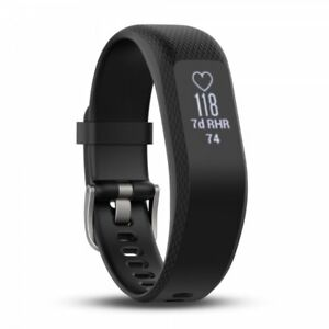 Garmin vivosmart 3 Activity Tracker With HR Monitor Large Black 010-01755-13