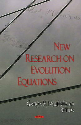 New Research on Evolution Equations, , New Book