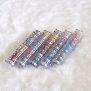True Colors Mineral Makeup 8 Stack - Classic, Eastside, Dawn, Pastel Blue, Hue 3