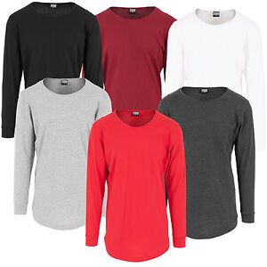 b0ff24daca8d Das Bild wird geladen Urban-Classics-Herren-Extra-Lang -geschnittenes-Longsleeve-Shirt-