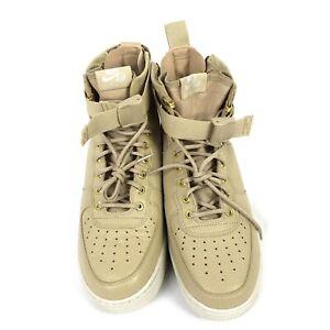Schuhe Nike SF Air Force 1 MID Beige 917753 200 Damen Herren