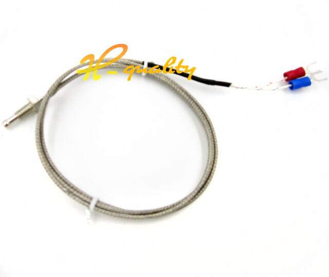 1M 3.3ft K Type Thermocouple Control Temperature Controller Sensor Probe