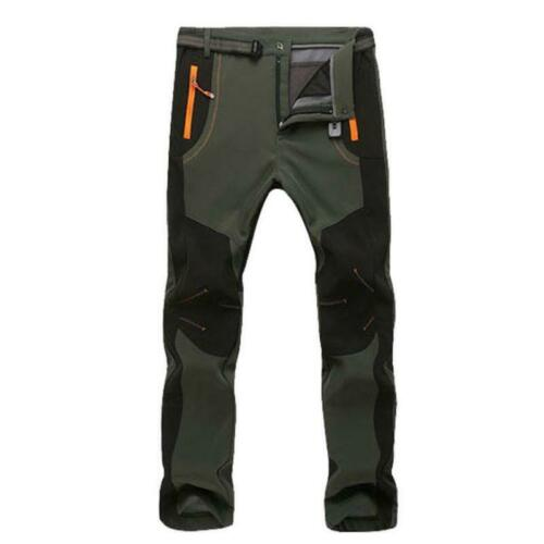 Men Women Waterproof Hiking Pants Winter Windproof Thicken Snow Ski Trousers