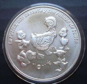 Mexico Mo Rare 1 Ounce  Silver  Cri- Cri Uncirculated