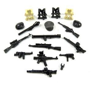 Ww2 Accessoires Set Armes bonnets et l'ouest pour lego personnages 18 pces  </span>