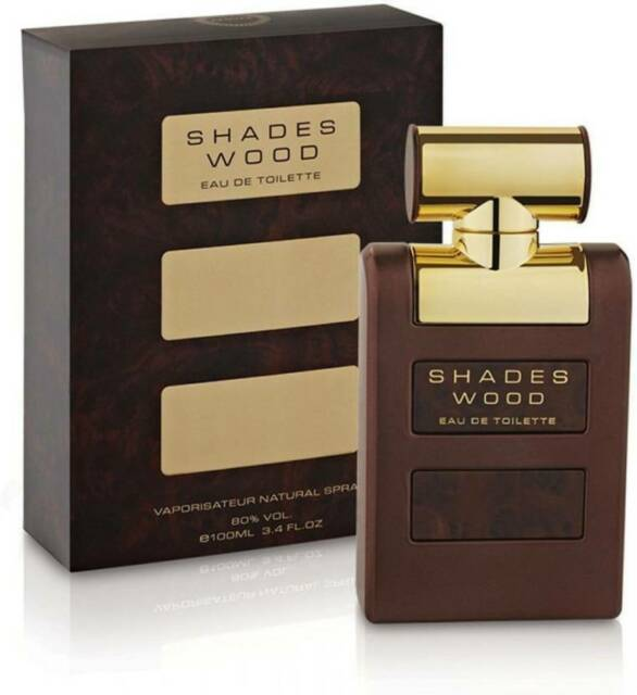 NEW ARMAF SHADES WOOD EAU DE TOILETTE PERFUME FOR MEN WITH FREE SHIPPING- 100 ML