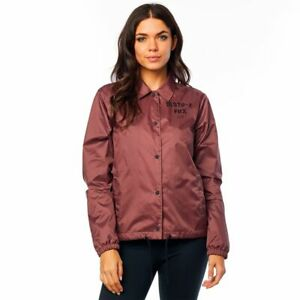 NWT-New-FOX-RACING-Womens-Pit-Stop-Coaches-Jacket-Rose-S-Small-o72J