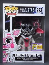 223 Funtime Funko Sdcc Jumpscare Pop Foxy 2017 Location For Sister nOvmN80w