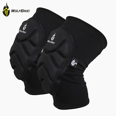 Adult Knee/Elbow Guard Protective Pads Cycling Roller Ski Skating Gear Xmas Gift