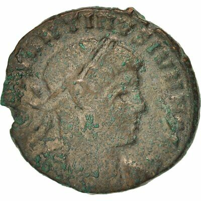 Constantine Ii #401874 Thessalonica Ric 184 Smoothing Circulation And Stopping Pains 317-337 Follis