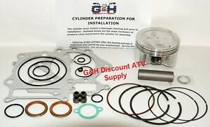 Wiseco Top End Piston Gaskets Rebuild Kit 95mm Standard Yamaha Grizzly 600