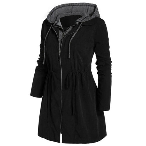Plus Size Womens Hooded Winter Coat Ladies Warm Parka Jacket Overcoat New 2020ZB