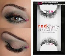 1 Pair AUTHENTIC RED CHERRY #213 Harley Human Hair False Eyelashes Eye Lashes