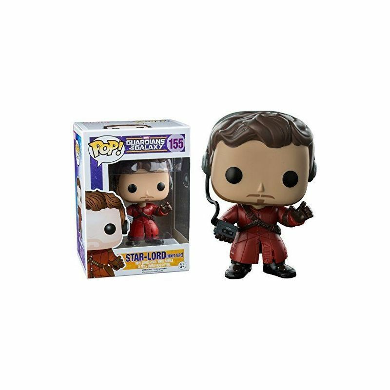 FUNKO POP STAR-LORD MIXED TAPE 155 GUARDIANS OF THE GALAXY MARVEL FIGURINE 9 CM
