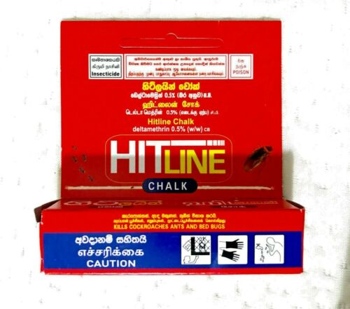 Kills Cockroaches Good Knight Hit Line Chalk Ants /& Bed bugs