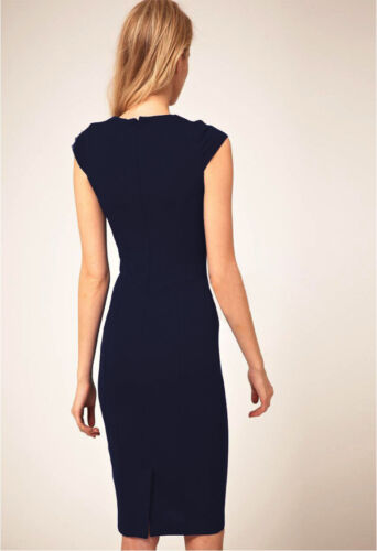 DS-B Ladies Stylish Bodycon Business  Evening Party Cocktail Dress