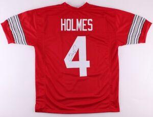 Santonio Holmes Signed Ohio State Buckeyes Jersey (TSE COA) | eBay