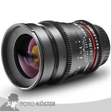 walimex pro 35/1,5 Video DSLR Nikon F (18712) NEU OVP