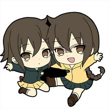 Durarara!! 2 Kururi and Mairu Rubber Phone Strap NEW