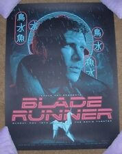 BLADE RUNNER Deckard movie poster art print TRACIE CHING spoke art