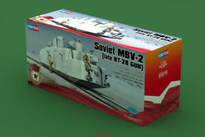Hobbyboss-1-35-85516-Soviet-MBV-2-Late-KT-28-Railway-Gun-Hot